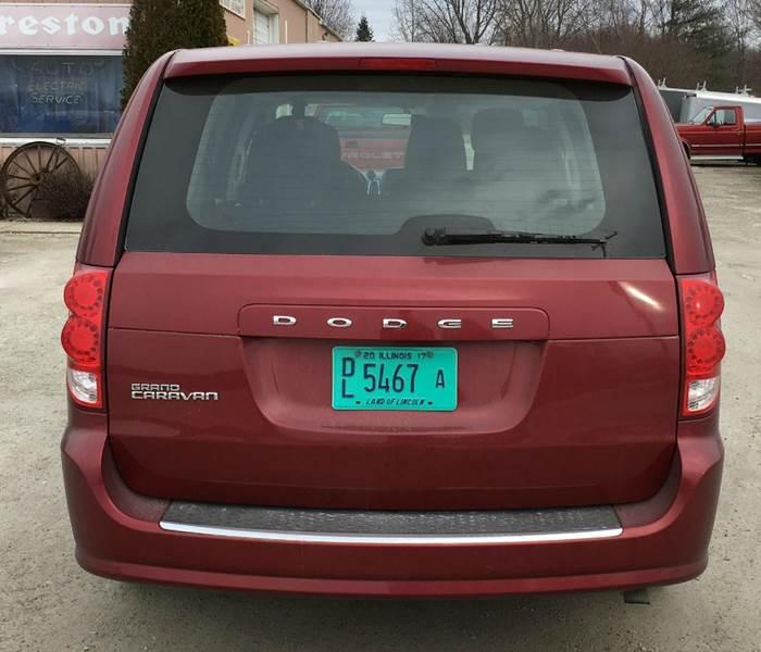2014 Dodge Grand Caravan SE 4dr Mini-Van - Onarga IL