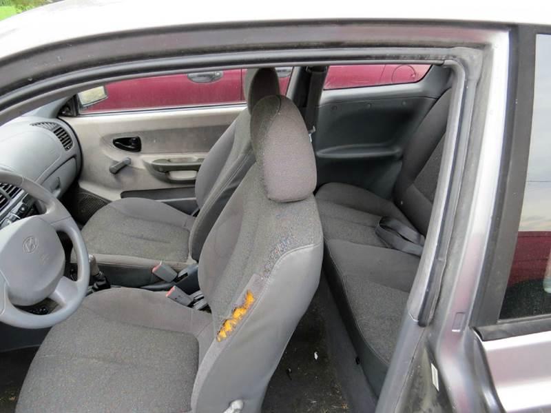 2003 Hyundai Accent 2dr Hatchback - Onarga IL