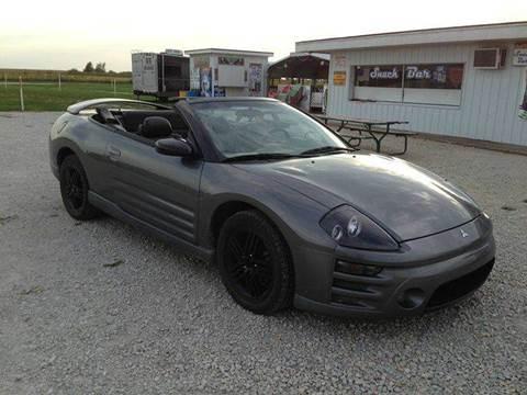 2003 Mitsubishi Eclipse Spyder for sale in Onarga, IL