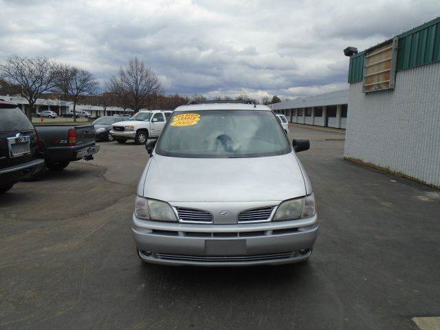 2002 OLDSMOBILE SILHOUETTE PREMIERE 4DR EXT MINIVAN silver leather loaded  dvd pkg  must se