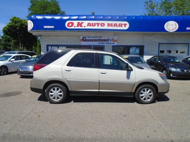 2005 BUICK RENDEZVOUS CX AWD 4DR SUV pewter low mile   new tire  awd must see there have