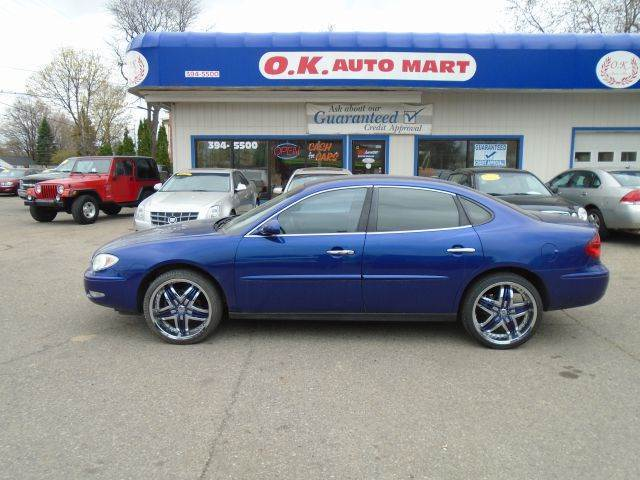 2006 BUICK LACROSSE CX 4DR SEDAN blue 38 v6  autocheck score85 20 alloy wheel must see