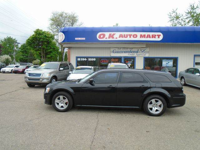 2008 DODGE MAGNUM BASE 4DR WAGON black there have been no accidents reported to autocheck for thi