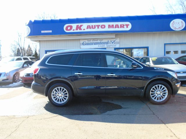 2009 BUICK ENCLAVE CXL AWD 4DR SUV blue 7pass  leather  sun roof  navigation  backup camer