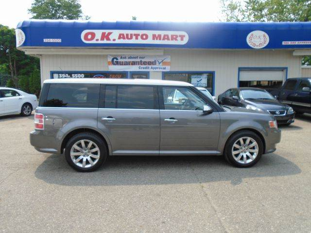2009 FORD FLEX LIMITED AWD CROSSOVER 4DR gray limited  leather  7 pass  sun roof  awd