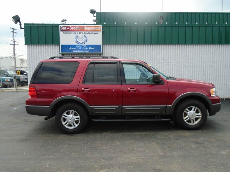2006 FORD EXPEDITION XLT 4DR SUV 4WD red 7pass  dvd pkg  sun roof  4wd  must see the