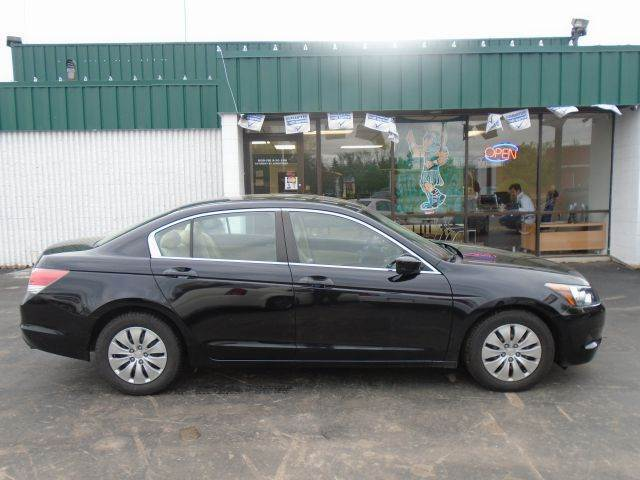 2008 HONDA ACCORD LX SEDAN black 100 point pre-sale inspection on every vehicle  financing and ex