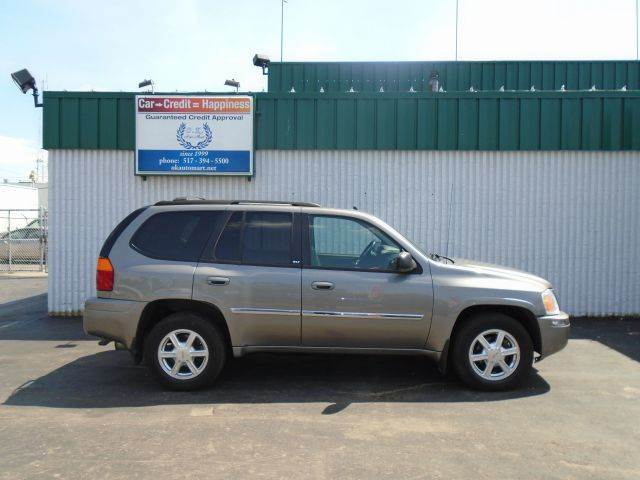 2007 GMC ENVOY SLT 4DR SUV 4WD pewter leather  sun roof  4wd must see there have been no a