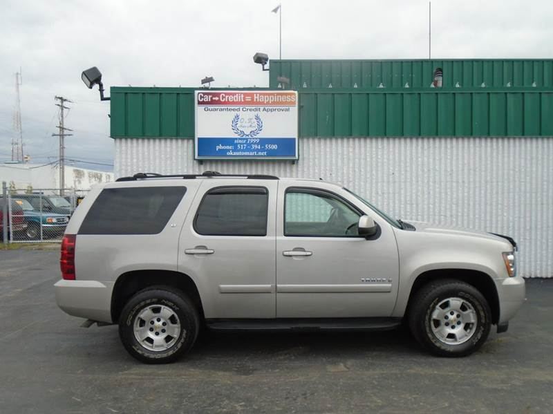 2007 CHEVROLET TAHOE LT 4DR SUV 4WD tan one owner  7pass  4wd must see 100 point pre-sa