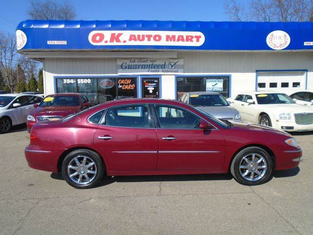 2005 BUICK LACROSSE CXS 4DR SEDAN burg low mile  leather  sun roof  alloy wheel must s
