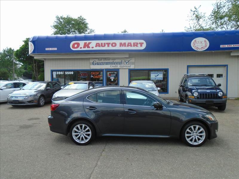 2008 LEXUS IS 250 BASE AWD 4DR SEDAN gray loaded  leather  sun roof  awd  must see 100 po