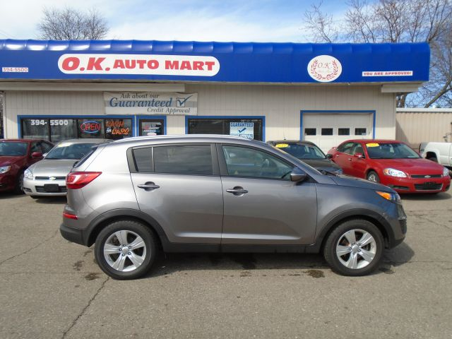 2012 KIA SPORTAGE LX 4DR SUV gray one owner  low mile new tires  must see 100 point pre