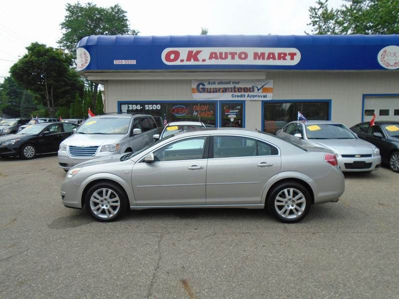 2007 SATURN AURA XE 4DR SEDAN silver one owner  sun roof  low mile  must see there have
