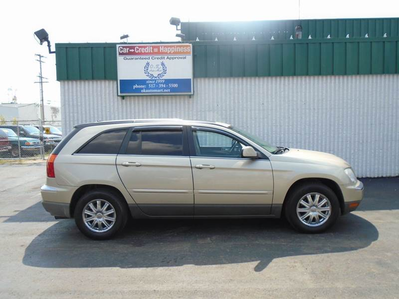 2007 CHRYSLER PACIFICA TOURING 4DR CROSSOVER tan low mile  7pass  leather  sun roof  4