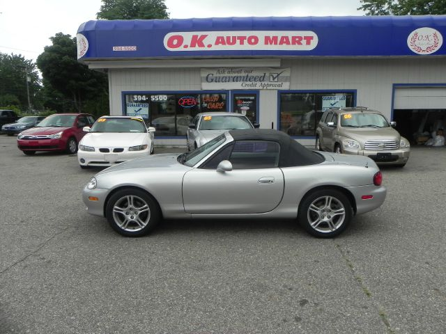 2005 MAZDA MX-5 MIATA CLOTH 2DR ROADSTER silver sport car  low mile  you must see there have