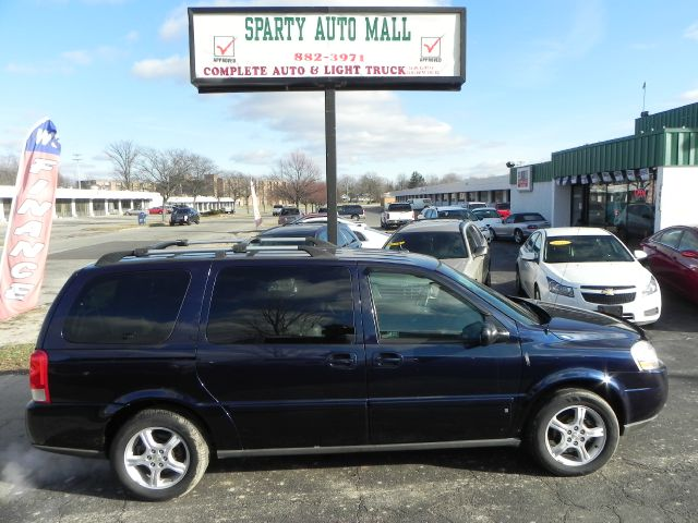2007 CHEVROLET UPLANDER LT 4DR EXT MINIVAN W1LT blue one owner  low mile  must see  there ha