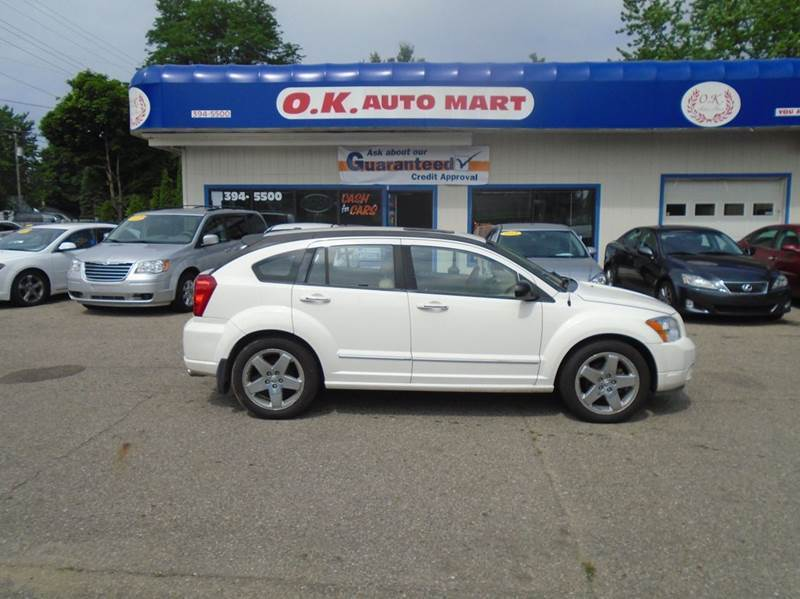 2007 DODGE CALIBER RT AWD 4DR WAGON white leather loaded sun roof  awd  must see there
