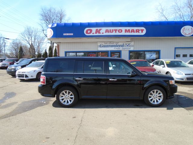 2009 FORD FLEX SEL SUV 4DR black one owner 7 pass must see 100 point pre-sale inspection o