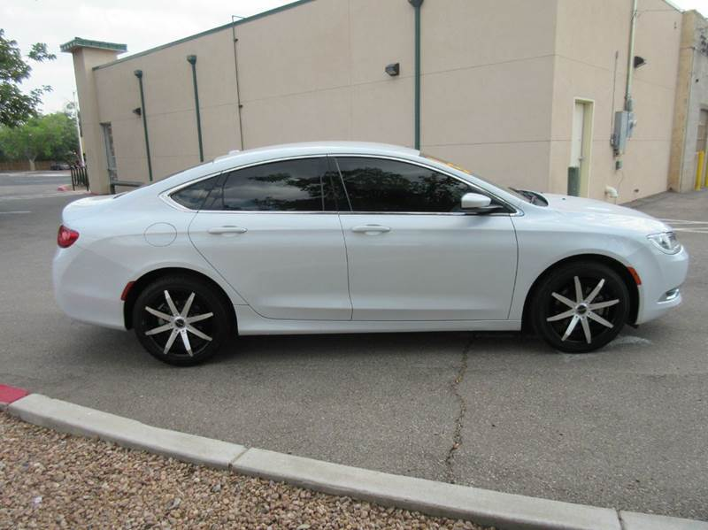 2015 Chrysler 200 Limited 4dr Sedan - Albuquerque NM