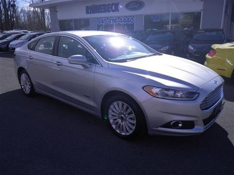 2016 Ford Fusion Energi for sale in Rhinebeck, NY