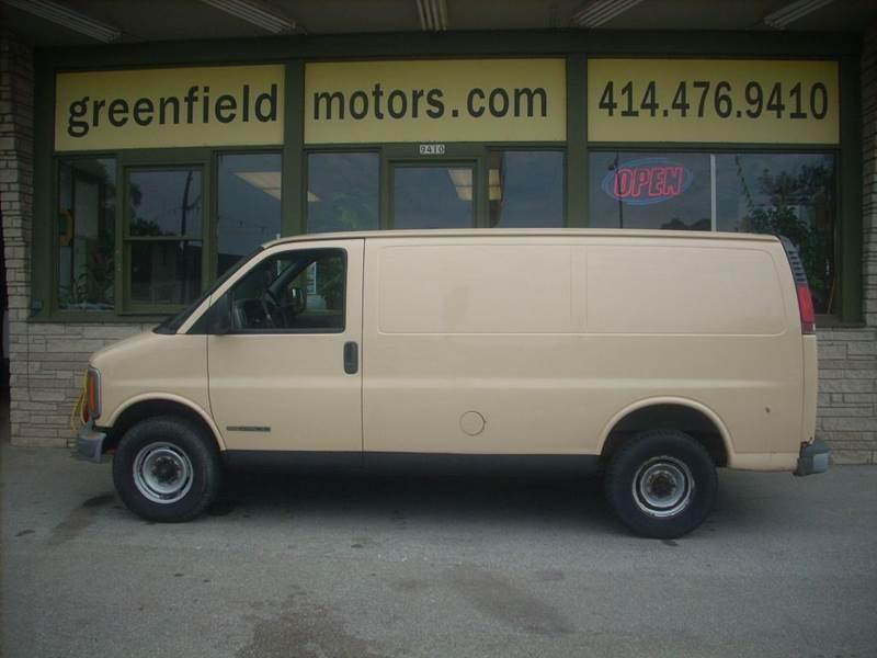 1998 GMC Savana Cargo