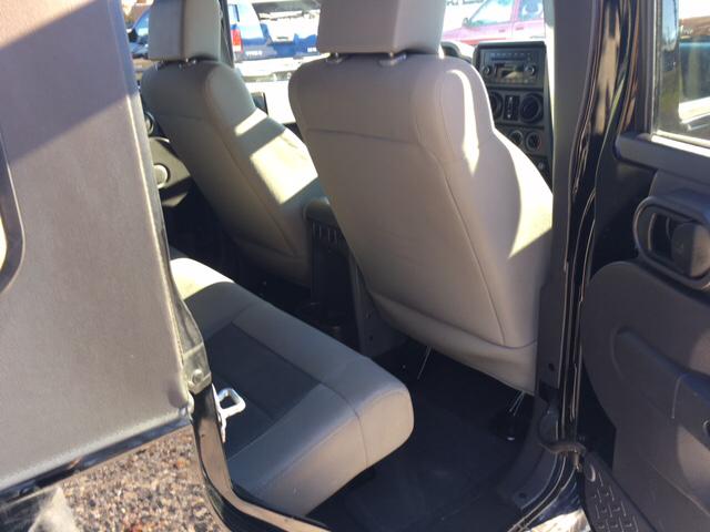 2009 Jeep Wrangler Unlimited X 4x4 4dr SUV - Newton NC