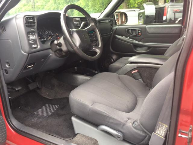 2003 Chevrolet S-10 4dr Crew Cab LS 4WD SB - Newton NC
