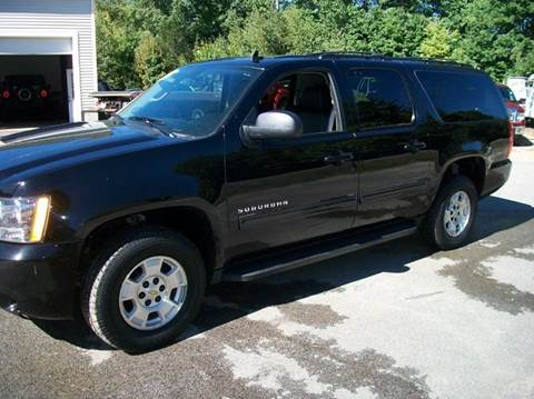 2012 Chevrolet Suburban For Sale New Hampshire