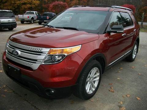 2014 Ford Explorer for sale in Brentwood, NH