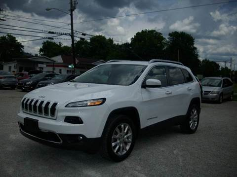 2014 Jeep Cherokee for sale in Clay City, KY