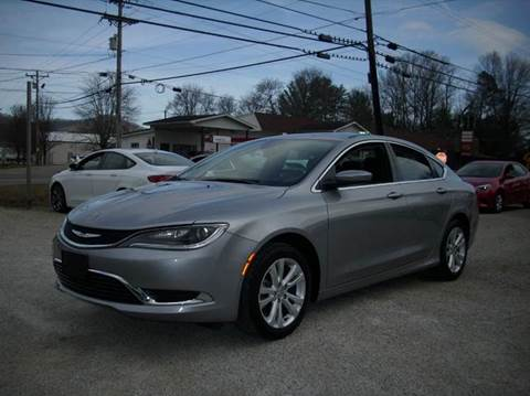 2015 Chrysler 200 for sale in Clay City, KY