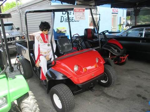 2012 Toro golf cart