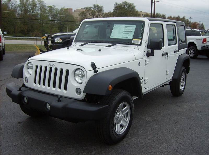 2017 Jeep Wrangler Unlimited 4x4 Sport Rhd 4dr Suv In