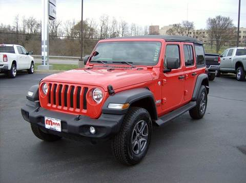 Mann Chrysler Dodge Jeep Of Maysville Maysville Ky Inventory