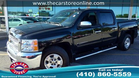 2013 Chevrolet Silverado 1500 for sale in Salisbury, MD