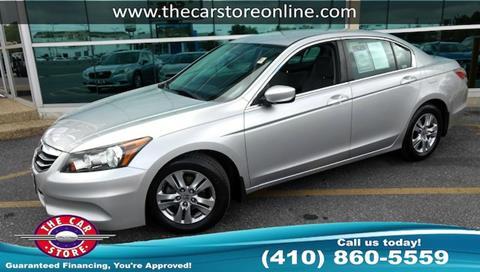 2011 Honda Accord for sale in Salisbury, MD
