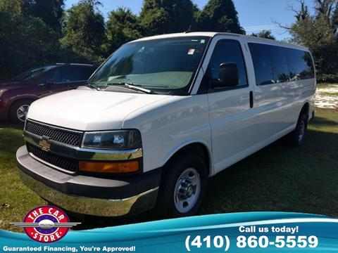 2015 Chevrolet Express Passenger for sale in Salisbury, MD