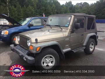 2004 Jeep Wrangler for sale in Salisbury, MD