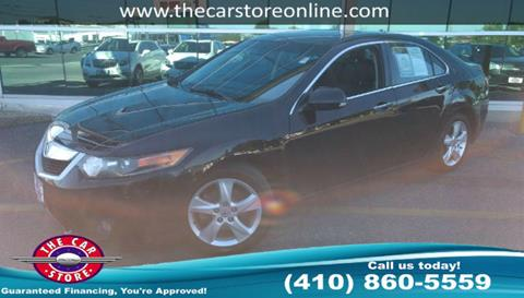 2010 Acura TSX for sale in Salisbury, MD