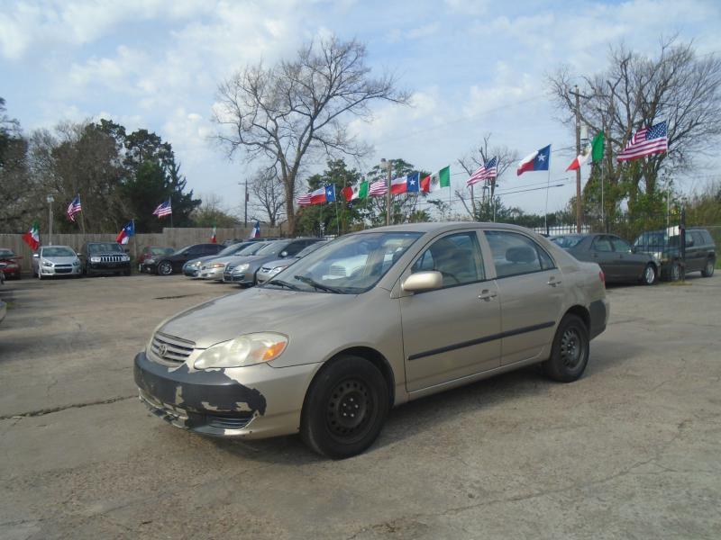 2004 toyota corolla for sale in houston tx. Black Bedroom Furniture Sets. Home Design Ideas