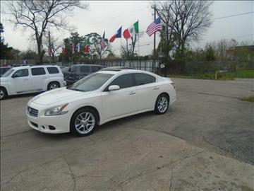 2011 Nissan Maxima for sale in Houston, TX