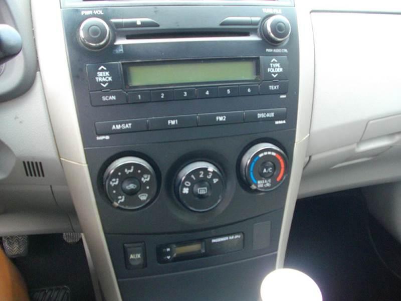 2010 Toyota Corolla LE 4dr Sedan 4A - Lufkin TX