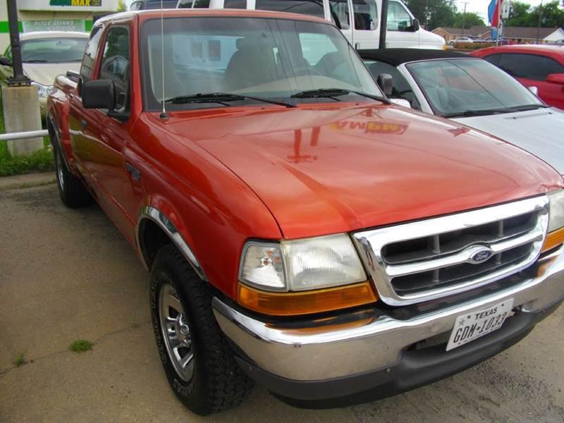 1999 Ford Ranger 2dr XLT Extended Cab Stepside SB - Lufkin TX