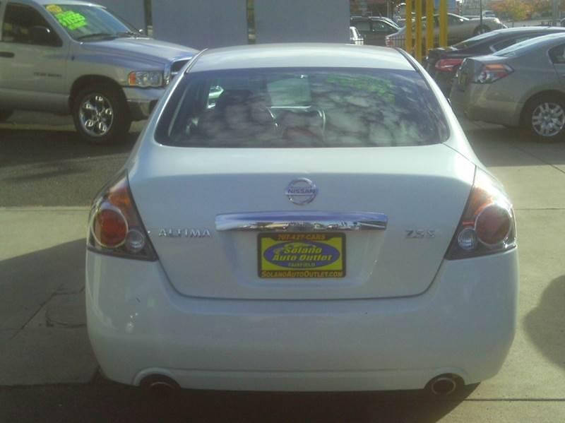 2012 Nissan Altima 2.5 S 4dr Sedan - Fairfield CA