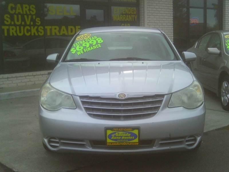 2008 Chrysler Sebring Touring 4dr Sedan - Fairfield CA