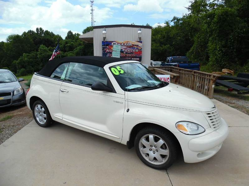 2005 chrysler pt cruiser 2dr touring turbo convertible in denver nc classic auto sales. Black Bedroom Furniture Sets. Home Design Ideas