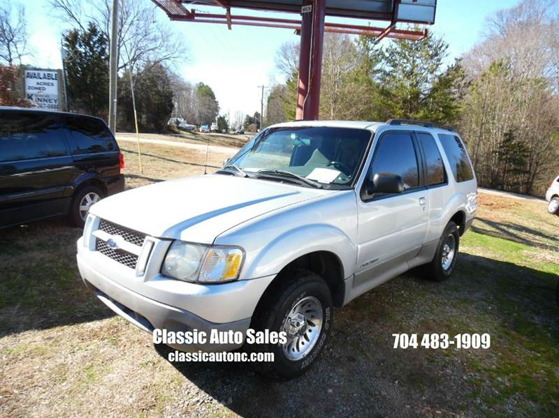 2001 Ford Explorer Sport 2WD 2dr SUV In Denver NC - Classic Auto Sales