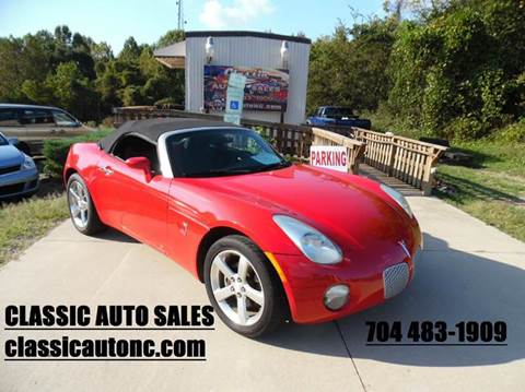 2006 Pontiac Solstice for sale in Denver, NC