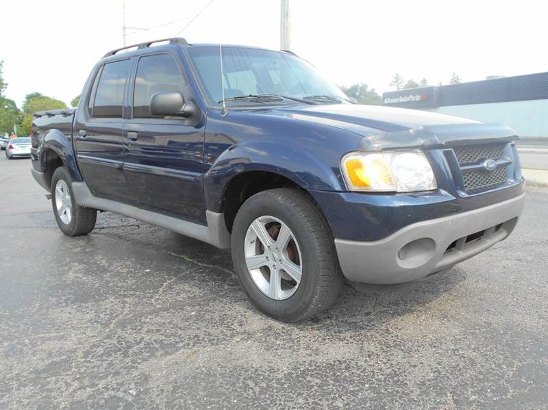 2003 ford explorer sport trac xls 4dr xls 4wd crew cab sb. Black Bedroom Furniture Sets. Home Design Ideas