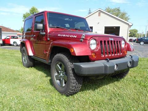 2012 Jeep Wrangler for sale in Angola, IN